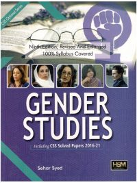 Gender Studies By Sehar Syed 9th Edition HSM