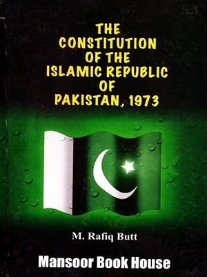 The Constitution of the Islamic Republic of Pakistan, 1973 - CSS ...