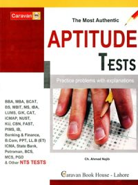 Caravan Aptitude Test Latest 2018 Edition By Ch Najeeb Ahmed