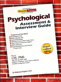 Psychological Assessment & Interview Guide By Dr Waheed Asghar (PAS) JWT