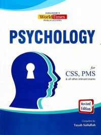 Psychology (CSS/PMS) By Tayab Saifullah JWT