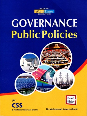 Governance & Public Polices By Muhammad Kaleem (PMS) JWT