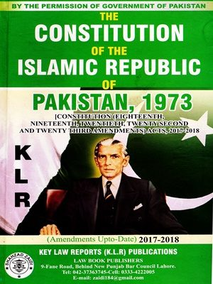 The Constitution of the Islamic Republic of Pakistan, 1973