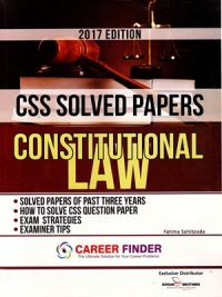 CSS Solved Papers Constitutional By Fatima Sahibzada (Dogar Brother)