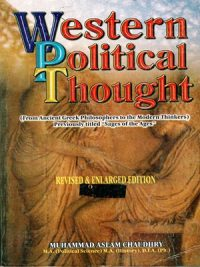 western political Thought By Muhammad Aslam Chaudhry (A.H. Publishers)