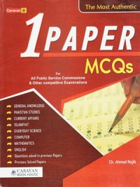 One Paper MCQs By Ch. Ahmed Najib (Caravan)