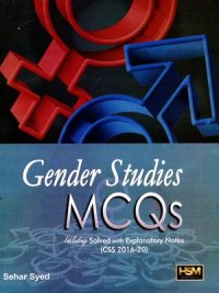 Gender Studies MCQs By Sehar Syed HSM