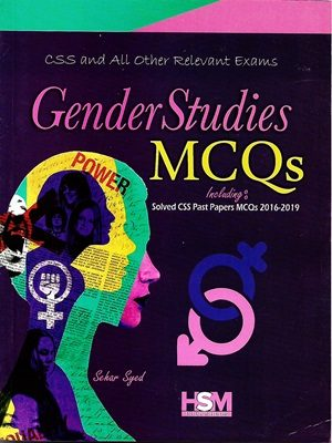 Gender Studies MCQs Solved CSS Past Papers 2016-2019 By Sehar Syed HSM