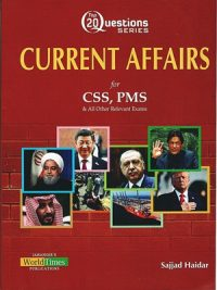Top 20 Questions Series Current Affairs By Sajjad Haidar JWT