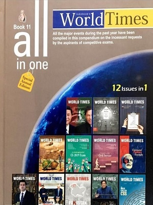 All In One World Time Magazine Book 11 Annual Issue By JWT