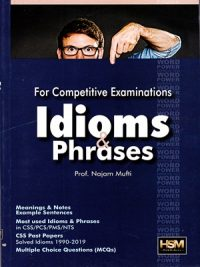 Idioms & Phrases By Najam Mufti HSM