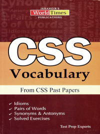 30 days, CSS, CSS BOOKS, CSS Past Papers, CSS Vocabulary From CSS Past Papers By JWT, Discovering The World of Vocabulary, ENGLISH COMPOSITION, Jahangir World Times, JWT, past papers vocab, VOCAB, Vocabulary