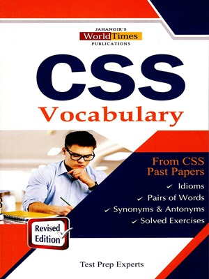 CSS Vocabulary From CSS Past Papers By JWT