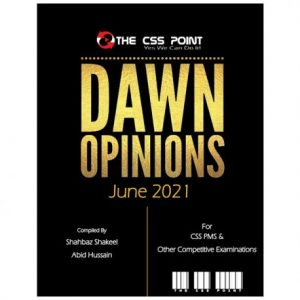 Monthly DAWN Opinions June 2021