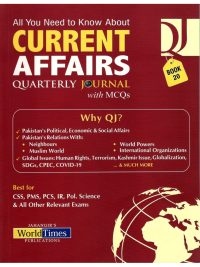 Current Affairs Quarterly Journal With MCQs – Book 20 JWT